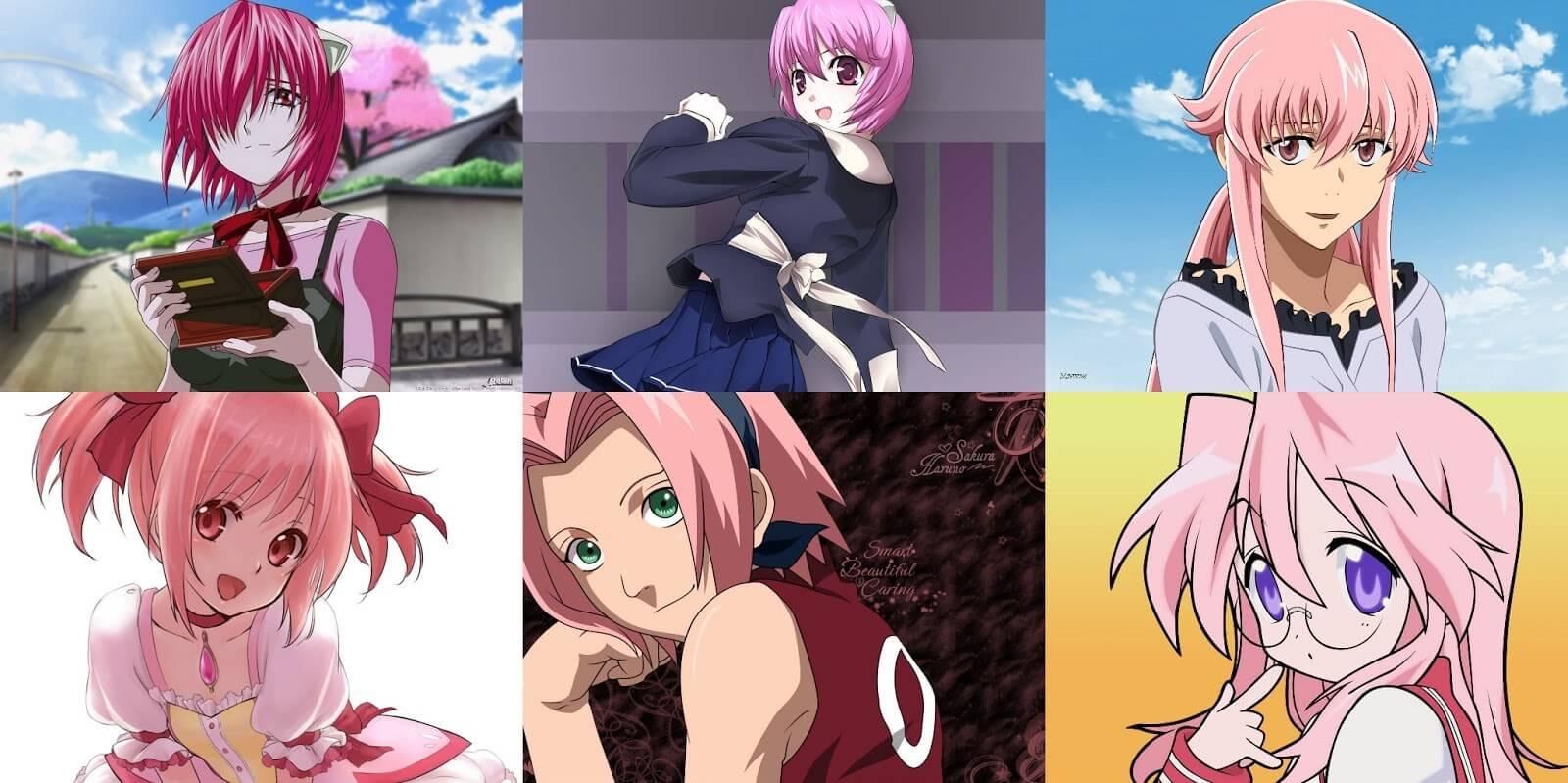 Qual A Melhor Personagem De Cabelo Rosa?
