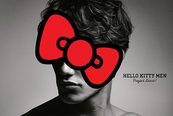 Hello Kitty para homens