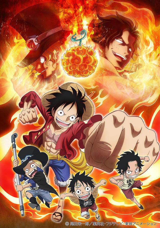 One Piece: Episódio de Sabo – Os Laços dos Três Irmãos – Legendado