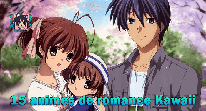 15 animes de romance Kawaii GQCA