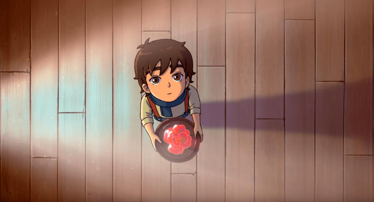 The Glassworker - Studio Ghibli