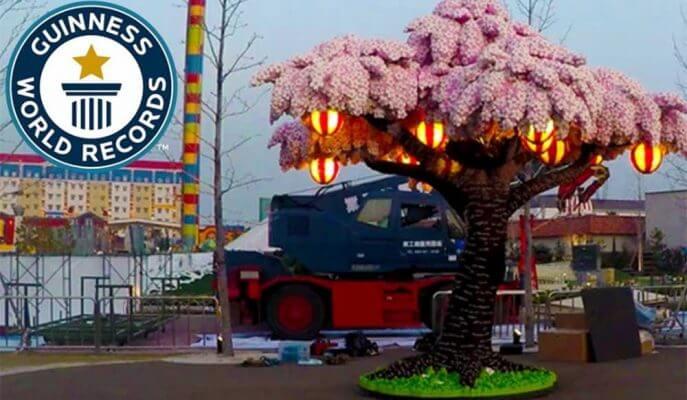 Árvore Sakura LEGO - GQCA