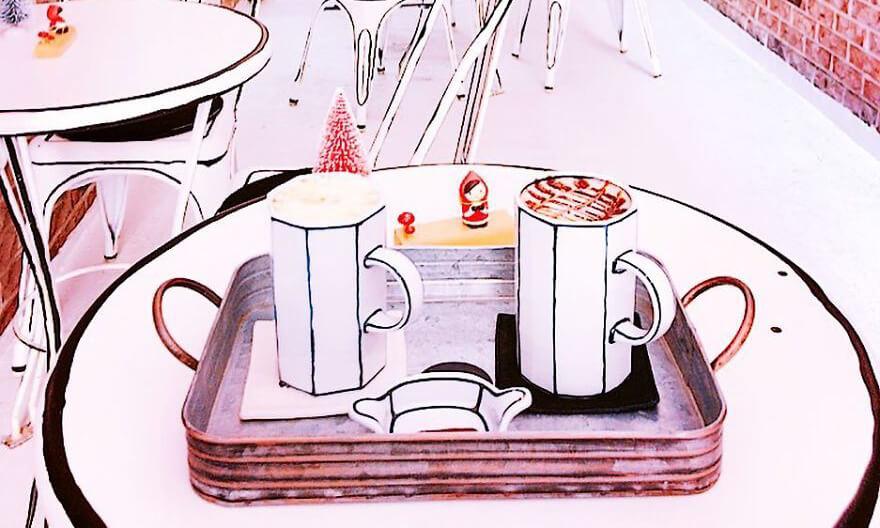 Café desenho animado GQCA