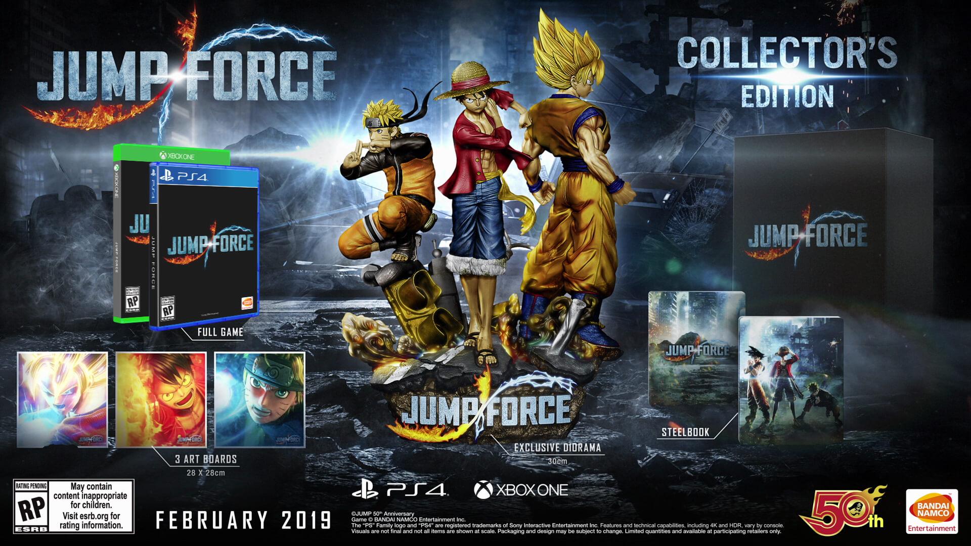 Jump Force GQCA
