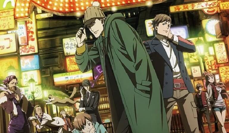 Vídeos dos personagens de Kabukichō Sherlock Anime destacam Fuyuto Kyogoku, John H. Watson, James Moriarty