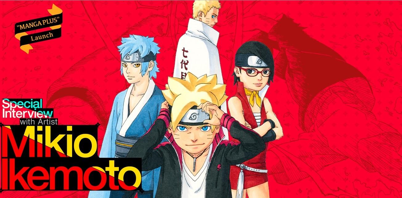 Manga Plus GQCA Boruto