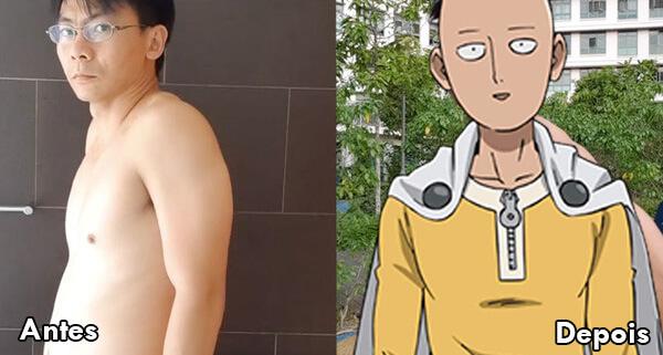 Saitama desafio - One Punch Man