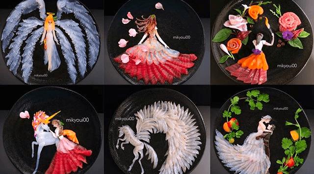 Sashimi arte