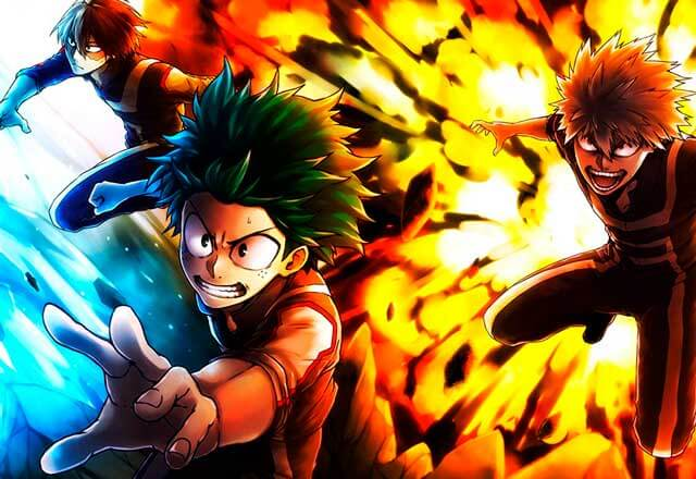 Boku no Hero Academia 4th