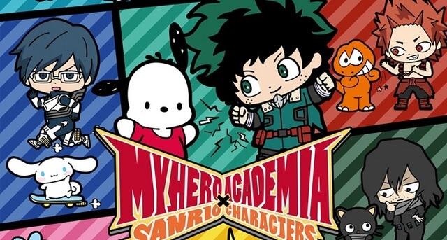 Boku no Hero Academia & Sanrio GQCA