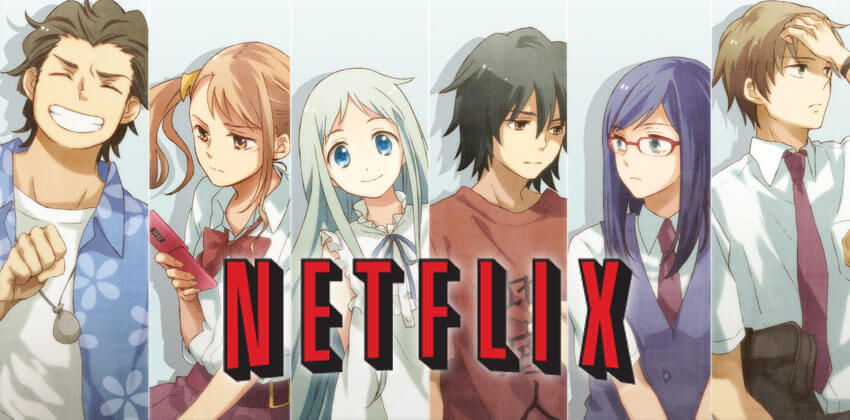 AnoHana Netflix