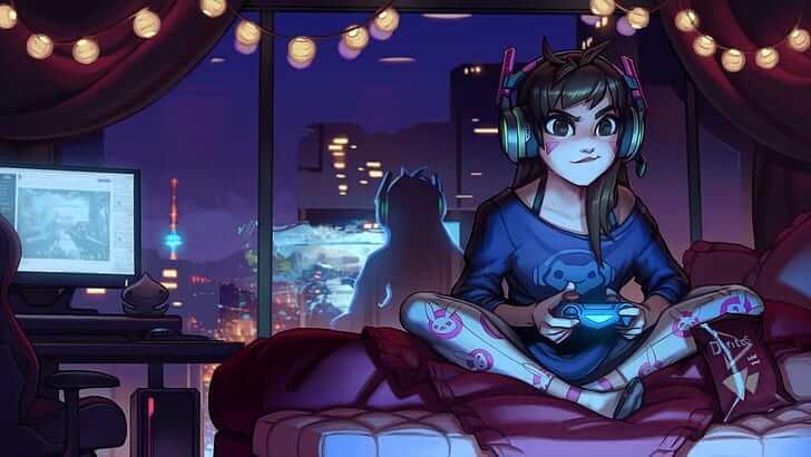 Mulheres adultas videogame