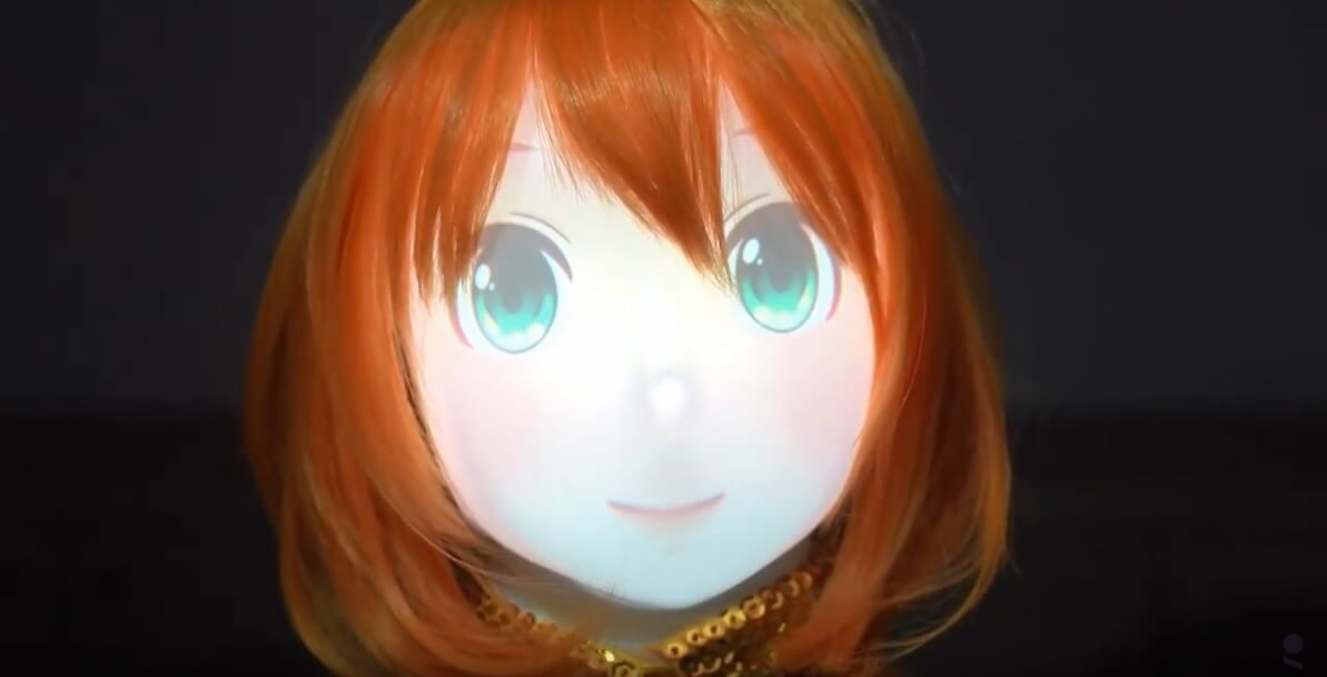 Furhat Robotics e Bandai Namco - Mirai Komachi
