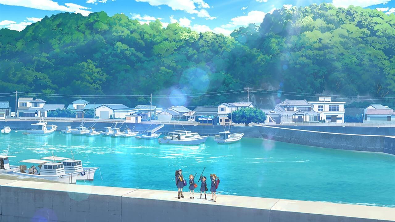 Houkago Teibou Nisshi - 1º Imagem promocional da adaptação anime