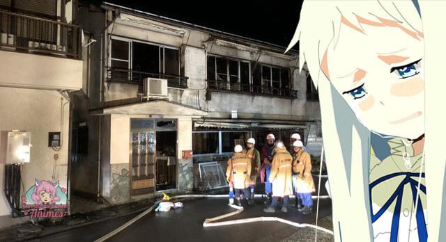 Casa da vida real de AnoHana em Chichibu pegou fogo