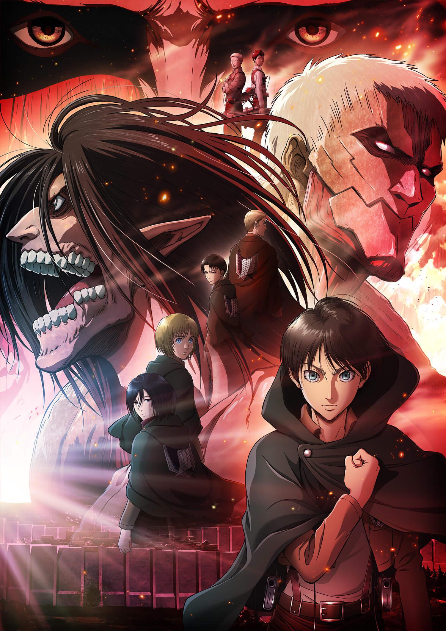 Última temporada de Shingeki no Kyojin ganha 1° trailer, pôster e novas informações da equipe de produção