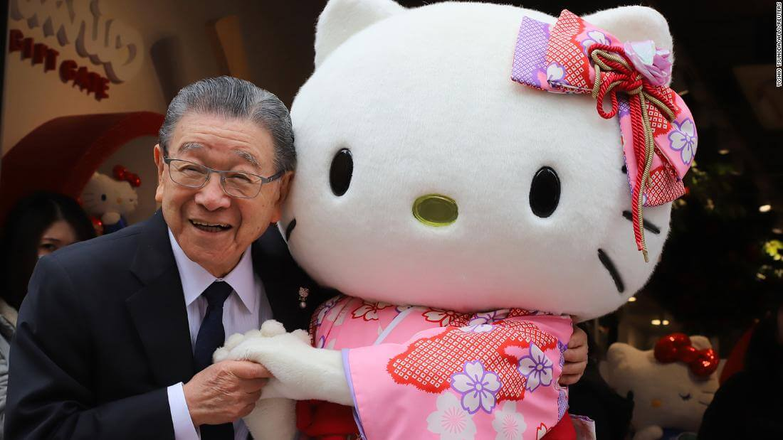 Presidente da Sanrio e criador da Hello Kitty