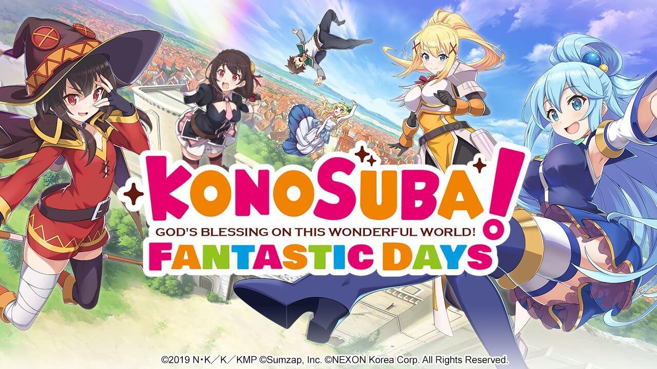 Konosuba: Fantastic Days - Jogo para smartphones ganha lançamento global