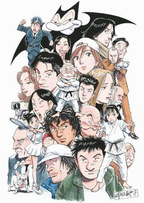 Naoki Urasawa - Mangaká está trabalhando em um anime
