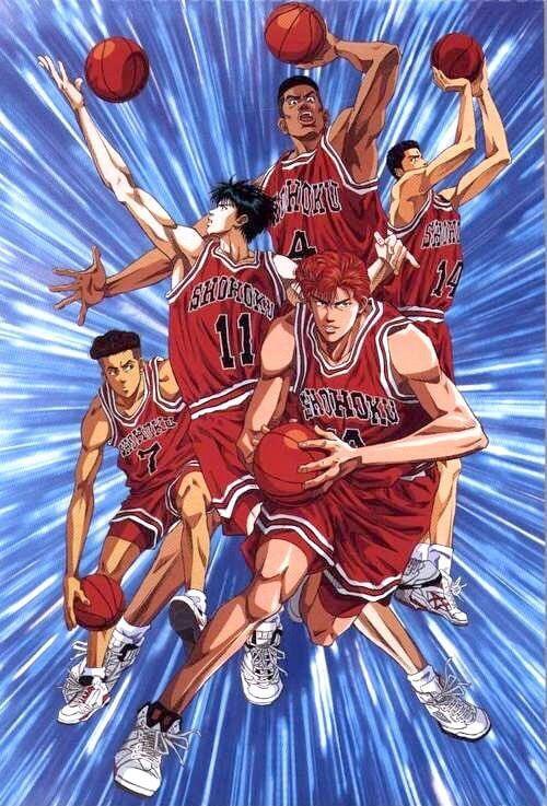 Slam Dunk - Clássico mangá de basquete terá um novo filme animado