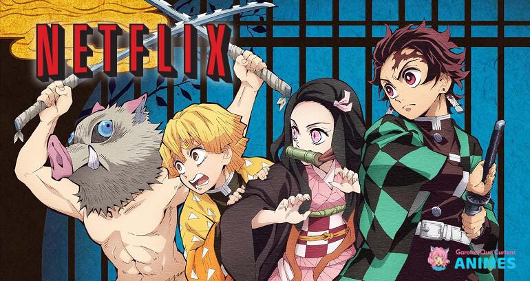 Kimetsu no Yaiba - Anime estreia na Netflix