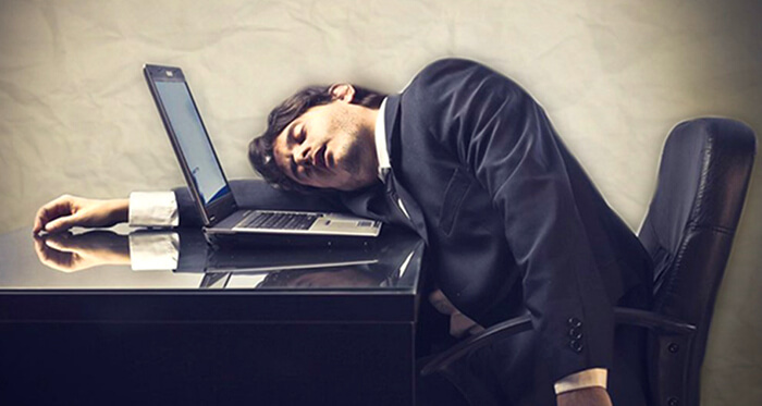excesso de trabalho