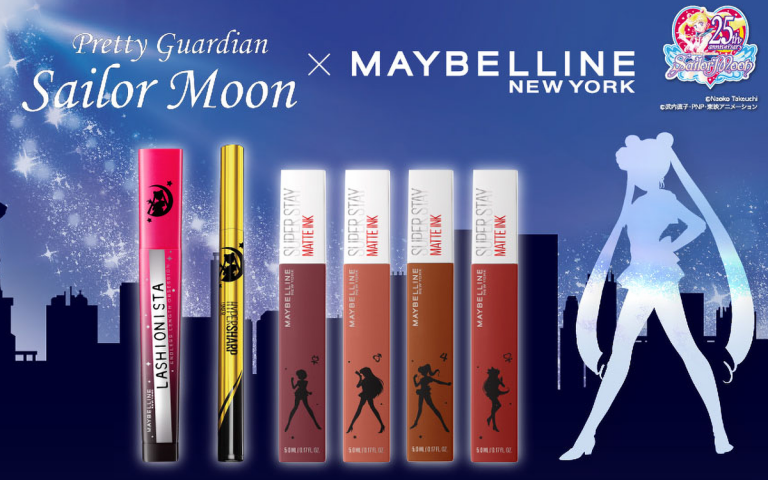 Sailor Moon e Maybelline