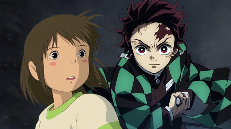 Studio Ghibli, considera Demon Slayer seu rival