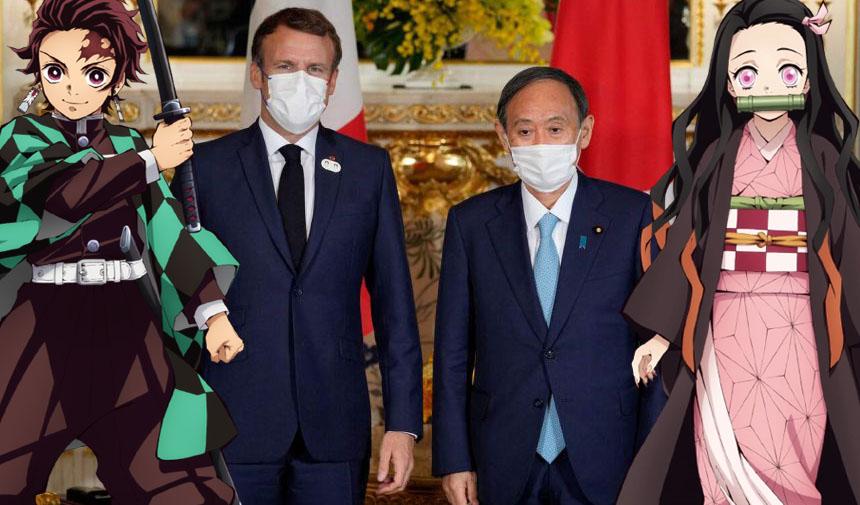 Presidente da França é Otaku